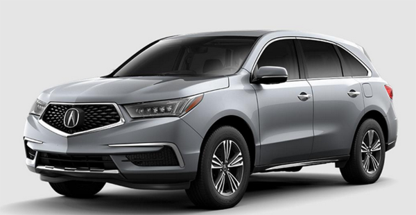 2020 acura mdx 3rd row lease cargo space towing capacity