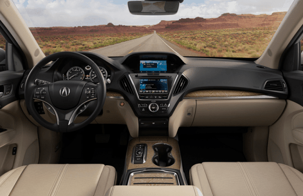 2020 Acura MDX 3rd row lease cargo space towing capacity ...