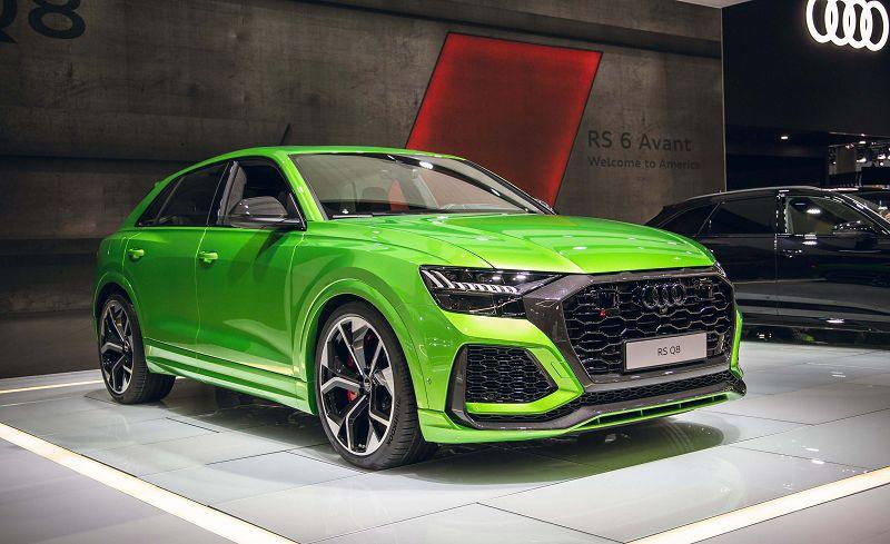 2021 Audi Q8 Rs Black Bhp Edition Blue Uk Engine