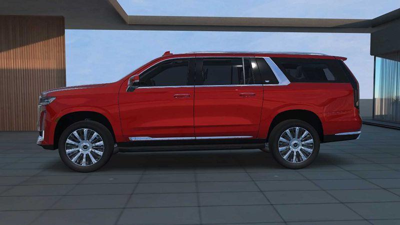 2021 Cadillac Escalade Ev Cost 600 Suv Dash
