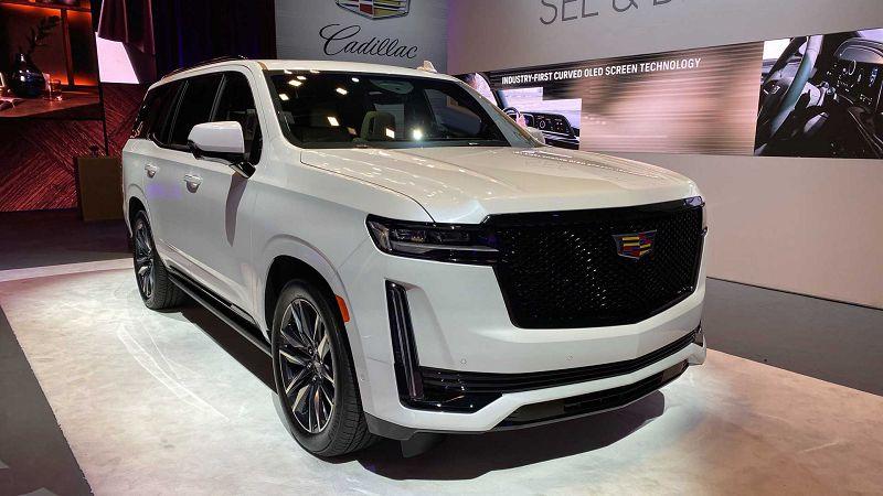 2021 Cadillac Escalade Ev Debut Images Diesel Redesigned