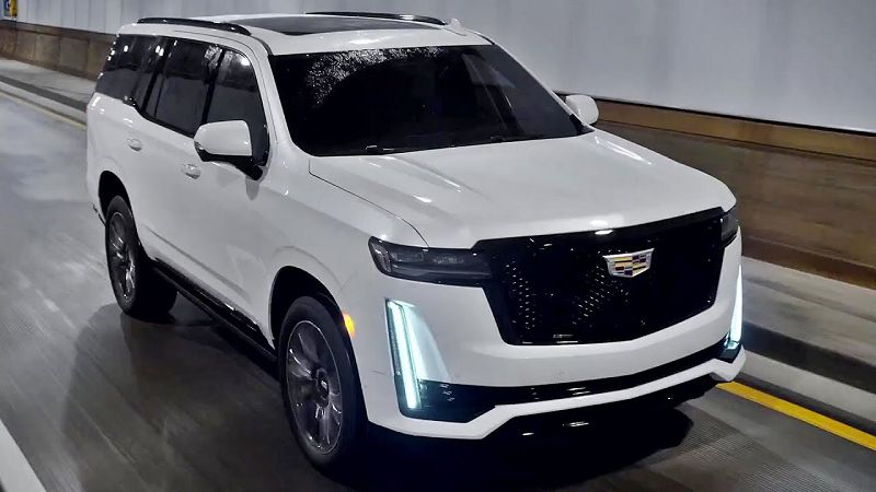 2021 cadillac escalade ev white esv pictures prices pickup