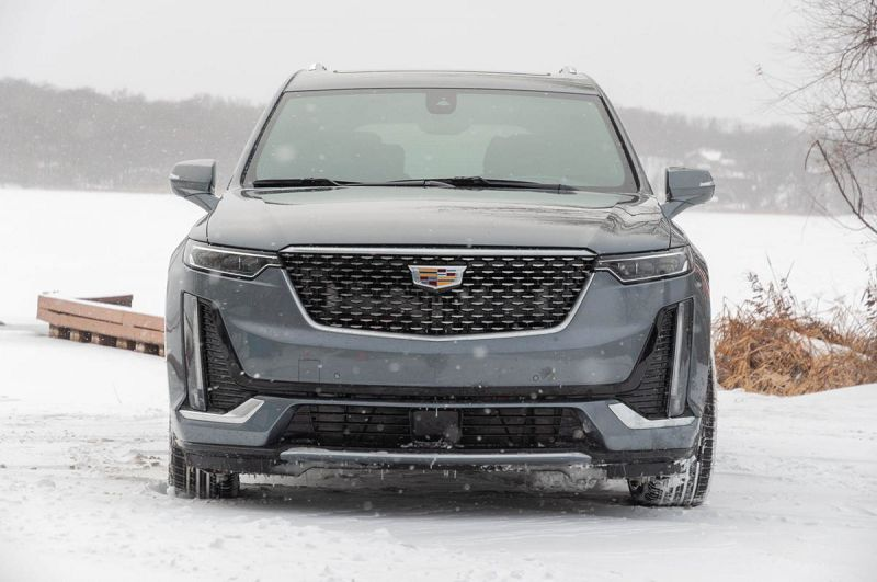 2021 Cadillac Xt6 All Black Ambient Lighting