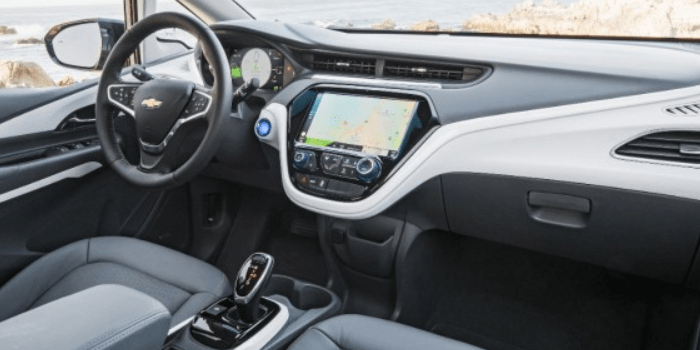 2021 Chevy Bolt Lt Interior