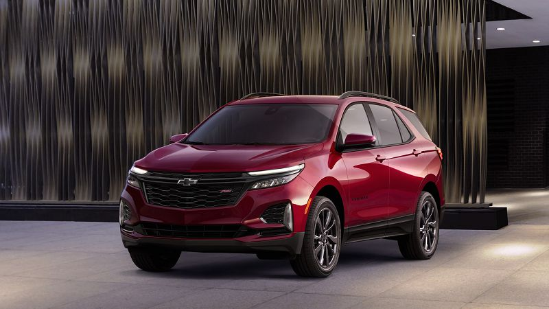 2021 Chevy Equinox Rs Colors Interior Price