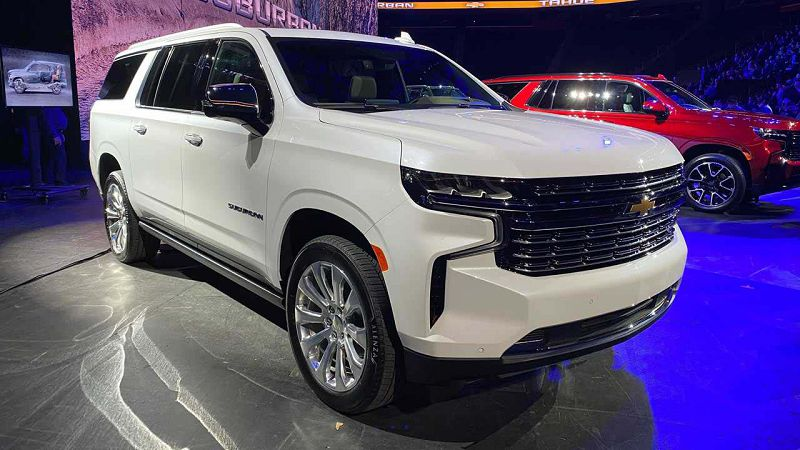 2021 Chevy Suburban Z71 All New Price For Sale