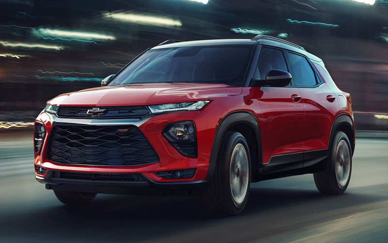 2021 Chevy Trailblazer Small Crossover Chevrolet New