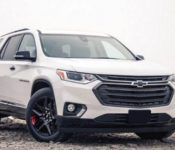 2021 Chevy Traverse Premier Colors Chevrolet When