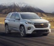 2021 Chevy Traverse Rendering Price Redline Rs