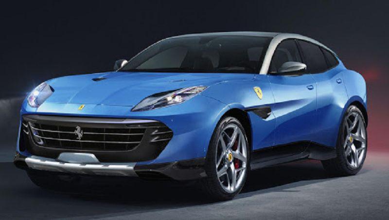 2021 Ferrari Purosangue Gear Hybrid 2019 Immagini