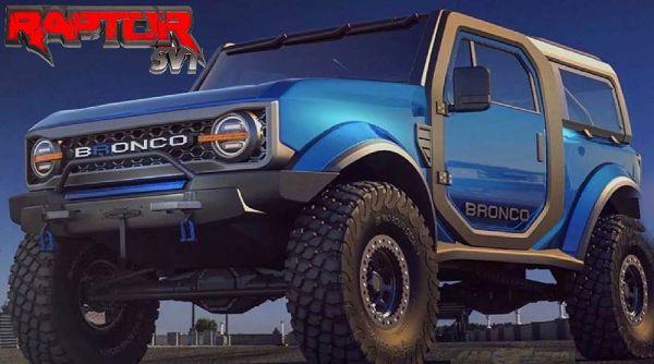 2021 Ford Bronco Raptor
