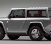 2021 Ford Bronco Blue Body On Frame Configurations Chicago Auto Show