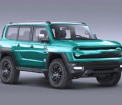 2021 Ford Bronco Leaked Date Doors Detroit Baja Black Baby