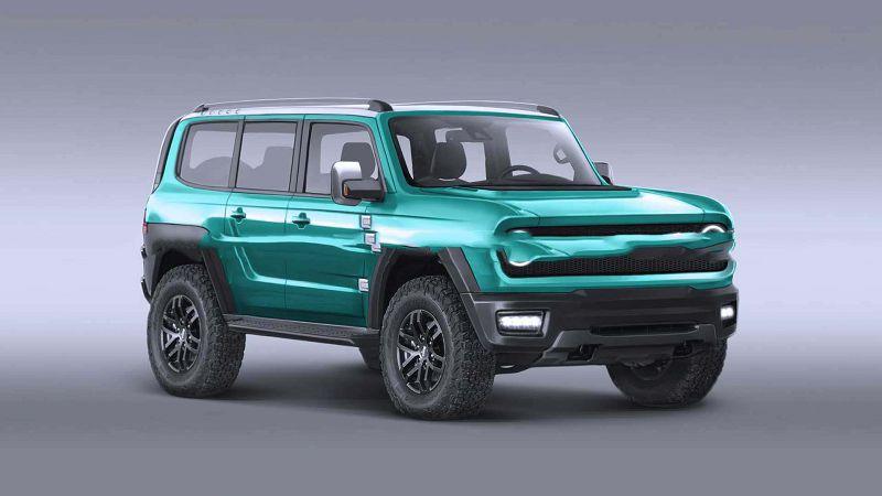 2021 Ford Bronco Leaked Date Doors Detroit Baja Black Baby