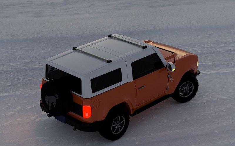 2021 Ford Bronco Pics Update Suspension Convertible