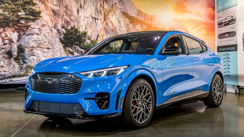 2021 Ford Mach E First Edition Price Release Date Interior