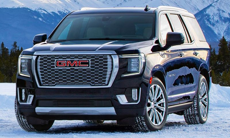 2021 Gmc Yukon Driver Dimensions Mpg Engine