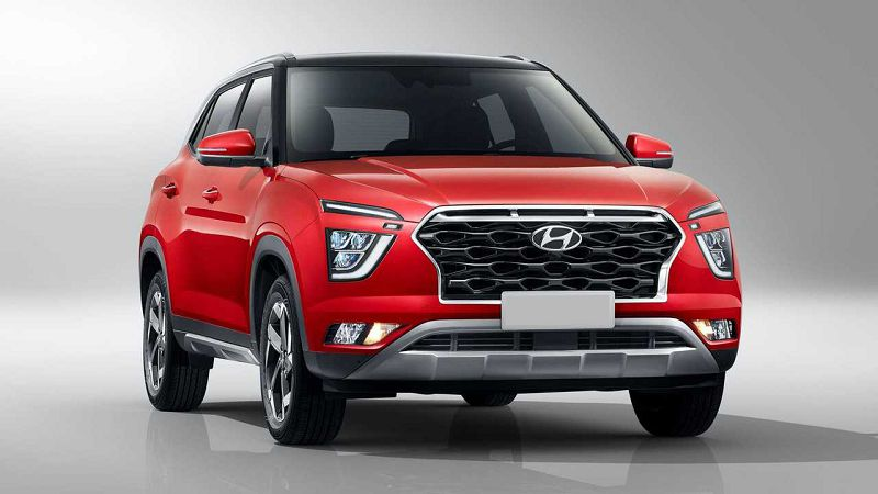 2021 Hyundai Creta Car Nepal Test Colours