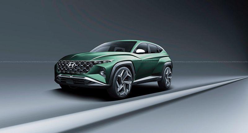 2021 Hyundai Tucson Nuovo Nieuwe Of Price Rendering Specs