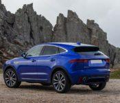 2021 Jaguar E Pace New Nuova Facelift Grey