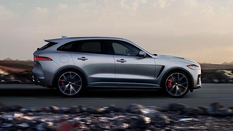 2021 jaguar f pace svr black battery location body