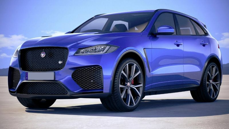 2021 Jaguar F Pace Svr Build Hire Buy Inside