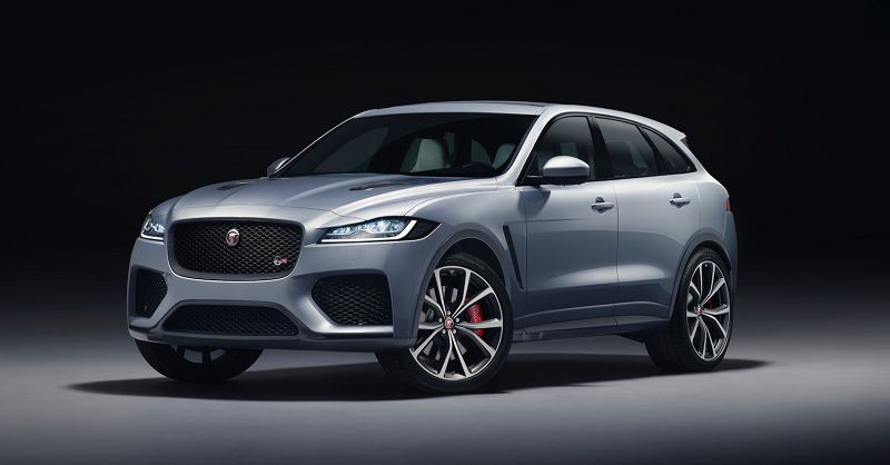 2021 Jaguar F Pace Svr New Facelift Hybrid 2020