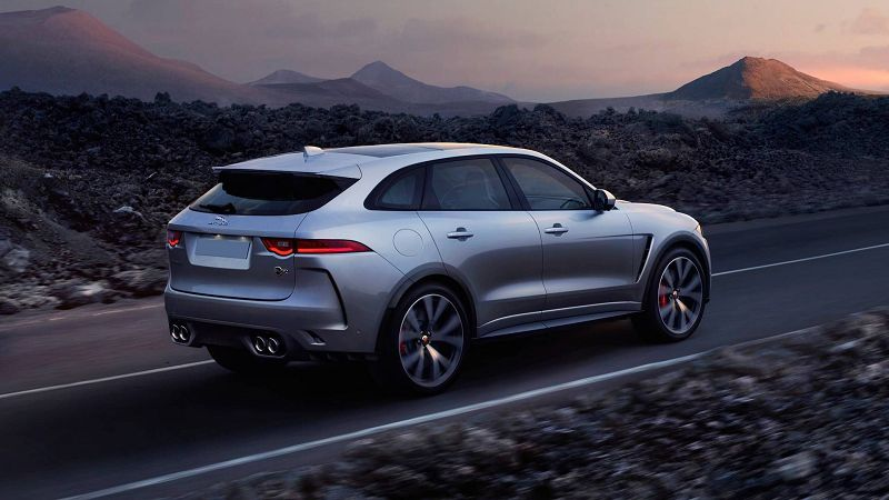 2021 Jaguar F Pace Svr Reliability Lease S Accessories