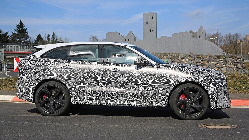 2021 Jaguar F Pace Svr Suv Nuova Nuevo For Sale