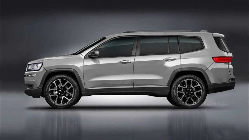 2021 Jeep Wagoneer Concept Interior Cherokee Limited