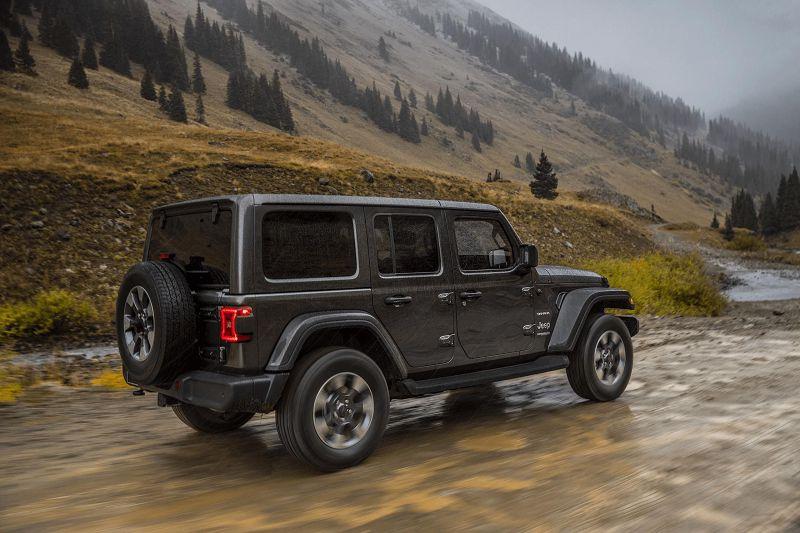 2021 Jeep Wrangler Hybrid S Mild Hybrid Auto Fuel Economy
