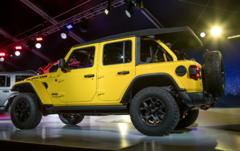 2021 Jeep Wrangler Limited Edition