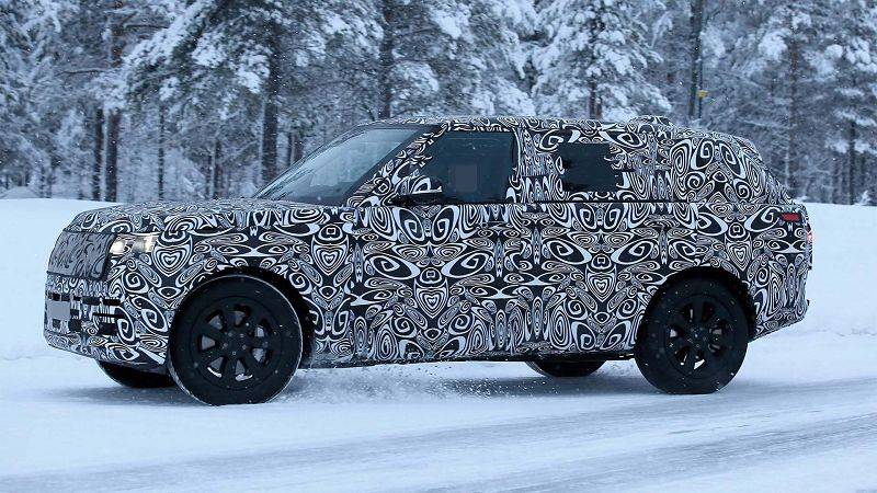 2021 Land Rover Range Rover Sport Body Style Change Build