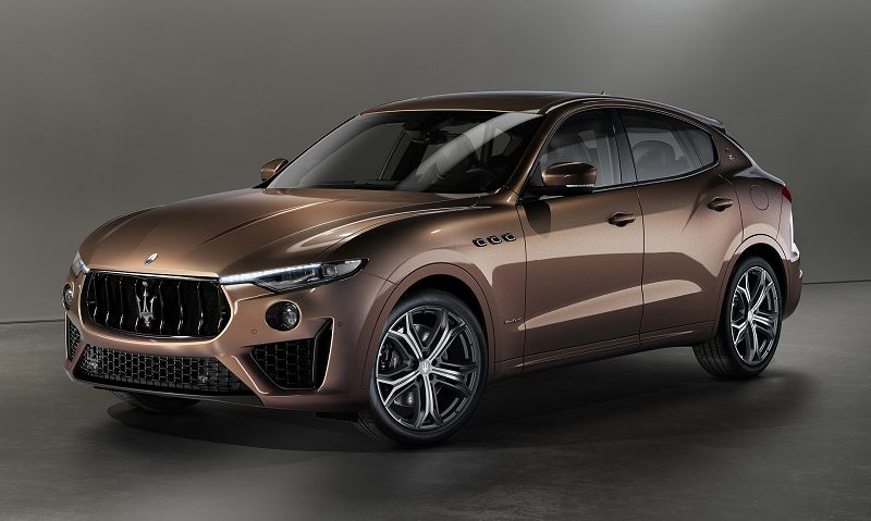 2021 Maserati Suv Blue Back Base Brown