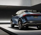 2021 Nissan Ariya Car Ccs Canada Area Ground Clearance