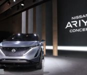 2021 Nissan Ariya Space Barcelona Bagasjerom 2020