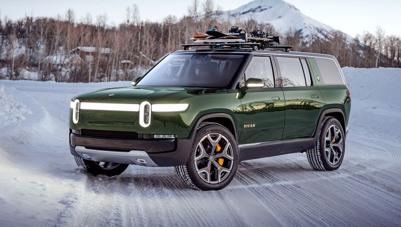 2021 Rivian R1s Australia All Electric Acceleration Aspen
