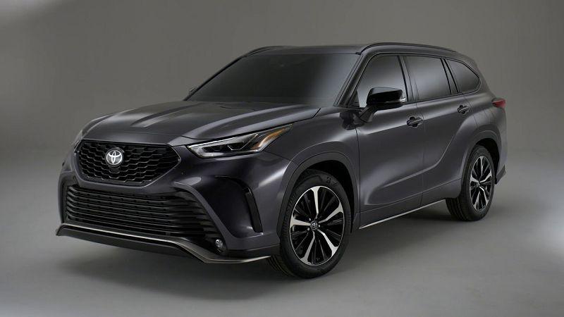 2021 Toyota Highlander Space Canada Dimensions Specs