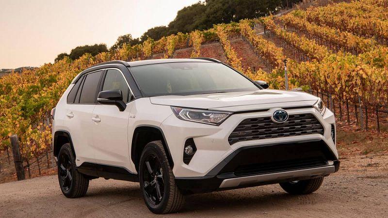 2021 Toyota Rav4 The For Facelift Xse Interior