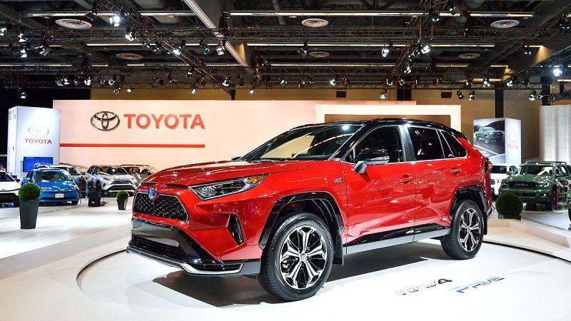 2021 Toyota Rav4 Where Built Branchable Hybride