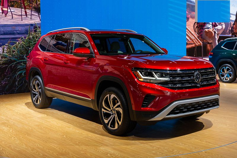 2021 Vw Atlas Auto Show When Will Be Available