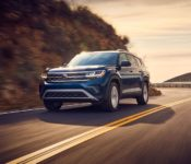 2021 Vw Atlas Released Cargo Space Dimensions
