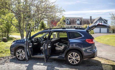 2021 Subaru Ascent Hybrid Touring Interior Price