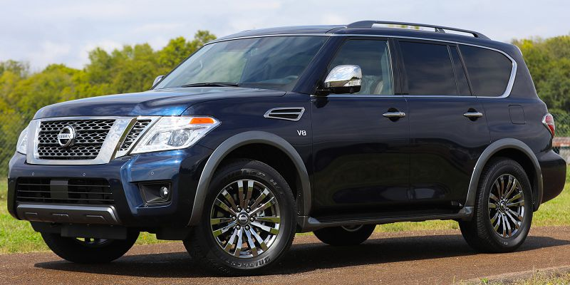 2020 Nissan Armada 4x4 Specs V6 Sv Gas Mileage Owners Manual