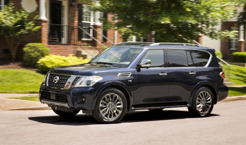 2020 Nissan Armada Preview Carplay 4x2 Reserve
