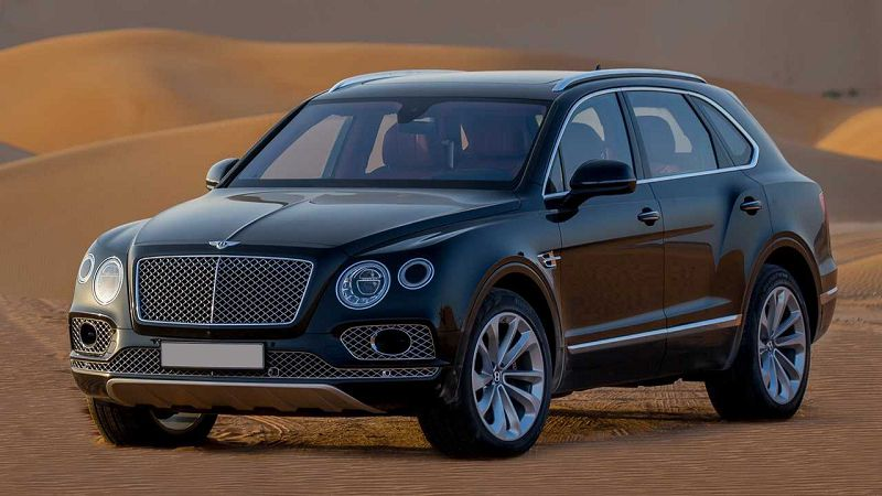 2021 Bentley Bentayga Inch Wheels Spy Pictures