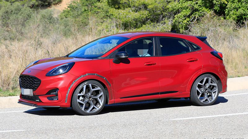 2021 Ford Puma St 2020 Review Australia Interior