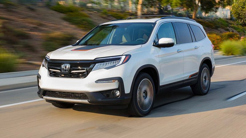 2021 Honda Pilot Hybrid Changes Black Edition