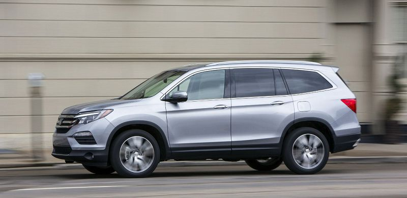 2021 Honda Pilot Touring New The Redesigned