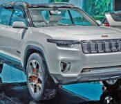 2021 Jeep Grand Cherokee Summit Reveal Rendering Trailhawk